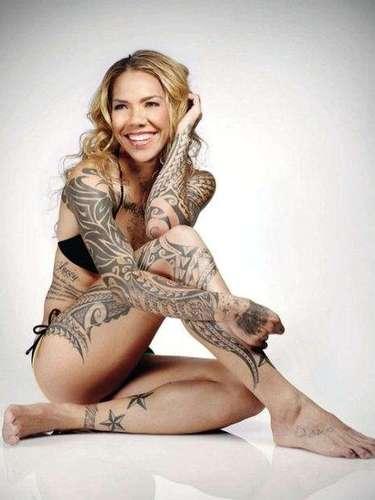 Former American international, Natasha Kai, who last played for the Philadelphia Union has 60+ tattoos covering her body.