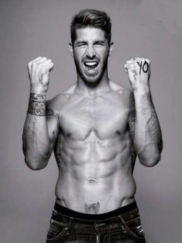 Sergio Ramos has tattoos on both arms as well as on his wrists, though it seems unlikely he'll develop complete sleeves.