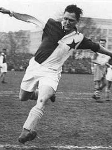 Josef Bican, a Czech-Austrian forward who played in the 1930s, scored 57 goals in 24 matches in one year in the Czech League in 1944. He is also considered the most prolific goal scorer of all time with more than 800 goals in competitive matches.