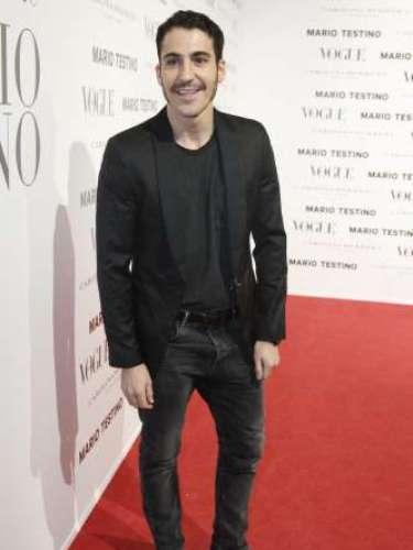 Miguel Ángel Silvestre coincidió con su novia, Blanca Suárez, en la fiesta de Vogue. El actor nos reconoció que ha sido una gran experiencia trabajar con Mario Testino y que disfrutó mucho de la sesión de fotos.