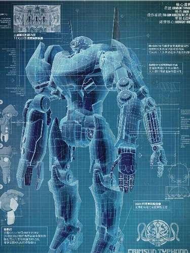 El director mexicano Guillermo del Toro y Warner Bros. Pictures preparan su nuevo filme 'Pacific Rim', donde un grupo de soldados debe pilotear robots gigantes llamados Jaegers, para luchar contra enormes monstruos al mejor estilo de ciencia ficción japonés. La película se estrenará hasta julio de 2013 pero mientras tanto te presentamos algunos de estos Jaeger y sus nombres clave. Aquí está el Jaeger chino'Crimson Typhoon'.