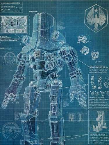 El director mexicano Guillermo del Toro y Warner Bros. Pictures preparan su nuevo filme 'Pacific Rim', donde un grupo de soldados debe pilotear robots gigantes llamados Jaegers, para luchar contra enormes monstruos al mejor estilo de ciencia ficción japonés. La película se estrenará hasta julio de 2013 pero mientras tanto te presentamos algunos de estos Jaeger y sus nombres clave. El Jaeger ruso es 'Cherno Alpha'.