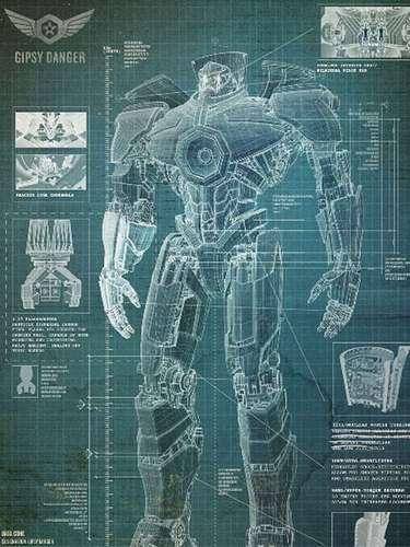 El director mexicano Guillermo del Toro y Warner Bros. Pictures preparan su nuevo filme 'Pacific Rim', donde un grupo de soldados debe pilotear robots gigantes llamados Jaegers, para luchar contra enormes monstruos al mejor estilo de ciencia ficción japonés. La película se estrenará hasta julio de 2013 pero mientras tanto te presentamos algunos de estos Jaeger y sus nombres clave. Te presentamos a 'Gipsy Danger'.