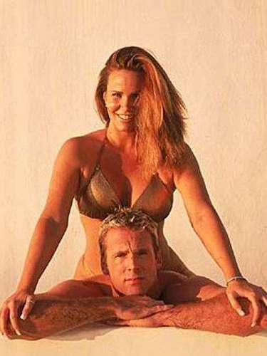 Unfortunately, domestic abuse is a common theme in some athlete marriages, but the marriage between Chuck Finley and Tawny Kitaen reversed the roles as Kitaen was accused of assaulting the baseball player with her stilleto heel. Kitaen responded by accusing Finley of drug use and using PED's.