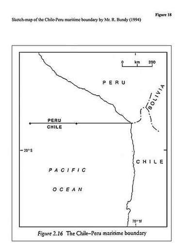 Otro de los puntos fuertes de la defensa chilena es el polémico libro de Bundy. Y es que el actual defensor de la causa peruana en La Haya, Rodman Bundy, precisó en su libro, \