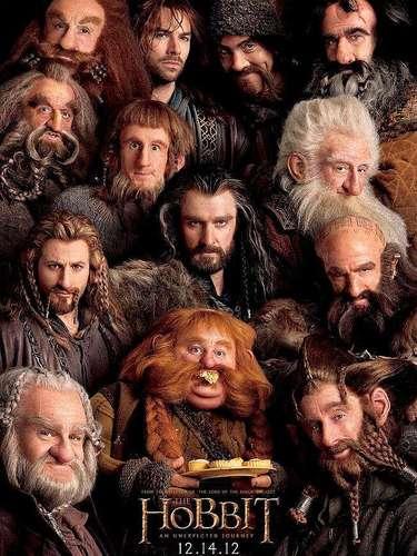 13. The Hobbit: An Unexpected Journey. Este poster llamó más la atención por ser la precuela a la trilogía de 'The Lord of the Rings'. En dicha imagen se concentran todos los personajes que en la anterior entrega, fueron obviados pero ahora cada uno es valioso por sí mismo