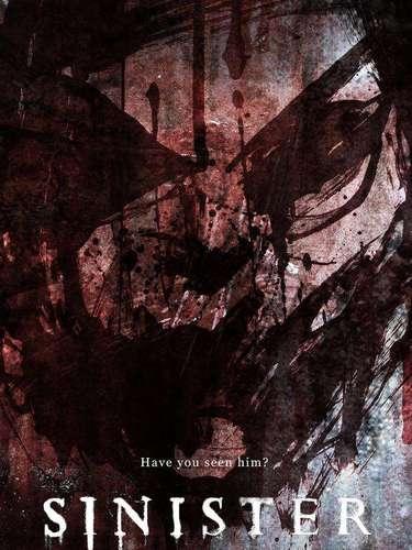 14.Sinister. Jamás un poster había dado tanto miedo y conmocionado por su 'arte'. ¿Se atreverían a verlo por varios minutos?