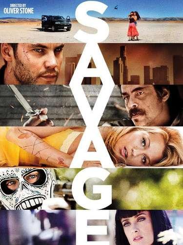 17. Savages. Oliver Stone supo acaparar la atención de los cinéfilos al poner a todo el elenco principal de la película en una sola imagen