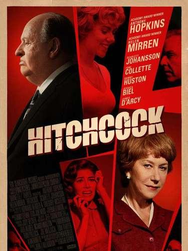 24.Hitchcock. Grandes actores hacen que este poster sea inolvidable pero sin dejar la gran caracterización de Anthony Hopkins