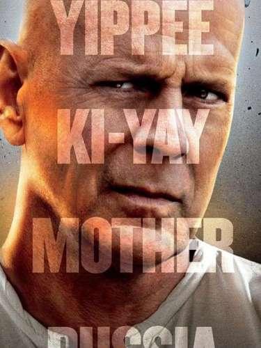 6. A Good Day To Die Hard. Una nueva entrega de Die Hard llegará a los cines el 14 de febrero del 2013 y tan sólo con ver a John McClane en el poster promocional es garantía de acción.