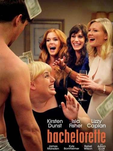 9. Bachelorette. Es el único poster del listado que está hecho con una imagen real de la película