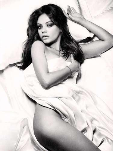 #2 Mila Kunis La actriz volvió a la pantalla grande con la comedia para adultos, 'Ted'.