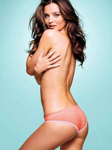 #6 Miranda Kerr La modelo de Victoria's Secret ha sido nombrada este año la mujer viva más sexy por la revista Esquire, en su edición británica.