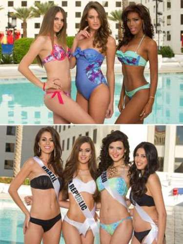 No solo hay bellezas diversas en el marco del certamen de Miss Universo, también existe una grandiversidad en cuanto a sus cuerpos: Unas que por mucho y otras que por poco, así es, entre las representantes al reinado también se pueden apreciarpesos y contexturas diferentes. Aquí presentamos algunas de las candidatas.