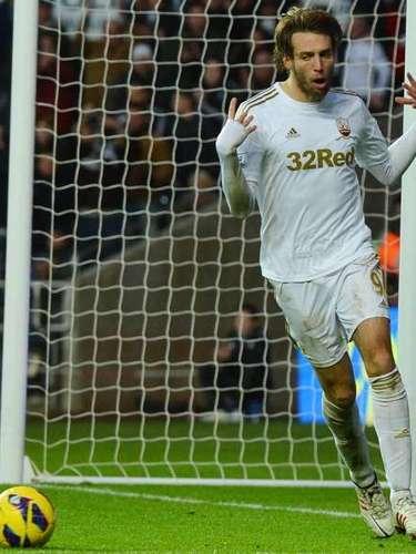 MIGUEL PÉREZ MICHU SWANSEA CITY. El jugador español llegó procedente del Rayo Vallecano al Swansea City y ha sido una auténtica revelación en la Premier League. Llegó para un nuevo proyecto encabezado por Michael Laudrup y no ha decepcionado, ya que actualmente Michu es líder de goleo del campeonato.
