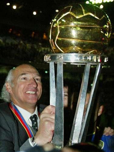 Una de sus últimas grandes conquistas, la Intercontinental 2003 ganada al Milan