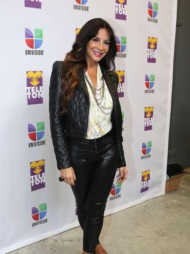 Lorena Rojas fue otra de las celebridades que se mostró muy entusiasta en la causa