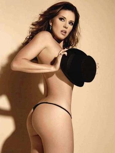La exMiss Universo Alicia Machado ha sido criticada por su subidas y bajadas de peso, pero cuando decide mostrar su sensualidad logra conquistar a los caballeros.