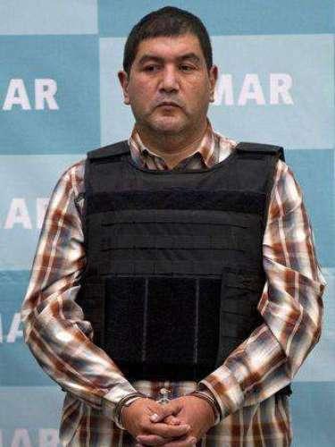 27 de septiembre del 2012.-La Marina capturó a Iván Velázquez Caballero, alias \