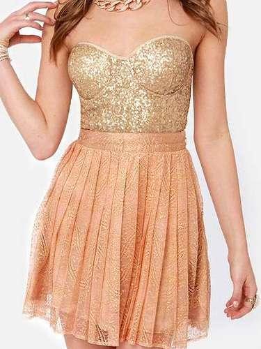 Fabuloso vestido de fiesta. 45 dólares en lulus.com