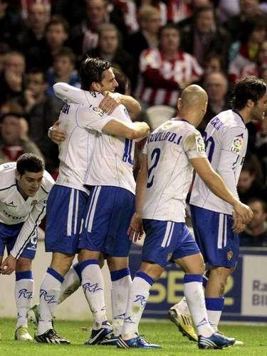 Zaragozatraveled toBilbao, where it beat Athletic 2-0.