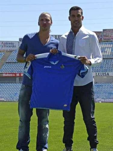 5 de julio. Presentación Alexis y Moyá, dos refuerzos indiscutibles para el Getafe esta temporada, sobre todo el caso del portero, consiguiendo en propiedad su fichaje.