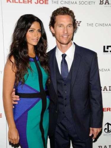 Matthew McConaughey se colaba en esta lista en el último momento. El viernes 28 venía al mundo su tercer hijo, una niña de la que de momento el nombre que han escogido el actor y Camila Alves.