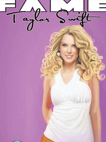 Taylor Swift fue otra de las figuras favoritas para ser llevada al cómic. A sus 22 años, Swift es una de las estrellas del pop más importantes en los Estados Unidos.
