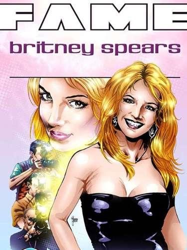 Britney Spears es una de las preferidas de este cómic. La diva del pop aparece sonriente en la portada, como en sus inicios.