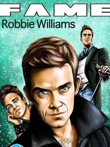 Robbie Williams es una de las figuras británicas más importantes de la música, por esta razón Fame le dedica un número.
