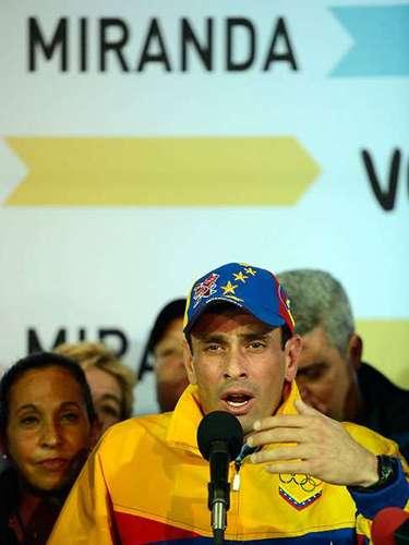 Capriles sería el más probable rival de Maduro en las urnas y afirmó el miércoles en su cuenta Twitter que \
