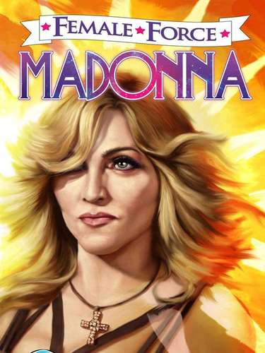 Madonna forma parte de los cómics y luce como en su etapa más actual. Sin duda la 'Reina del Pop' no podía quedar fuera.
