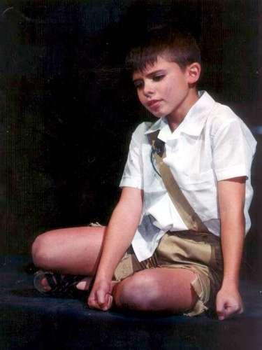 Imanol Landeta a los 10 años debutó en la telenovela \