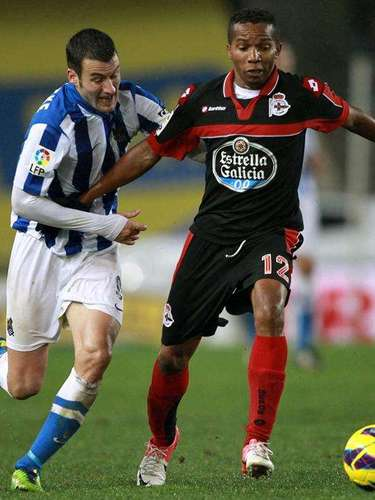 Real Sociedad could not pull out a win against Deportivo La Coruña, even though Depor was a man down for half an hour.