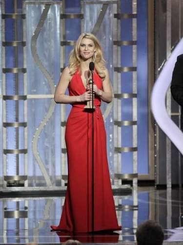 Como era de esperarse, la Mejor Actriz en Serie de TV, Drama, fue Claire Danes por \