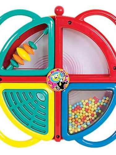 4-en-1 Toy Drum Set. Es difícil encontrar instrumentos musicales interesantes , pero este conjunto de ritmo 4-en-1 se ajusta. Diversión fascinante, con una pandereta, mini platillos, agitador, y el tambor con banqueta. Desarrolla la coordinación y el sentido del ritmo. Para niños de 2 en adelante.