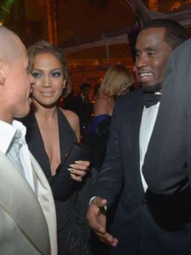 Turns out the trio saw each other eye-to-eye at last night's Golden Globe Awards After Party for The Weinstein Company.