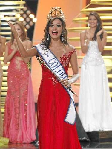 Carmen Lucía Aldana Roldán es la mujer más hermosa de Colombia que representará al país Latino en el próximo certamen de Miss Universo.