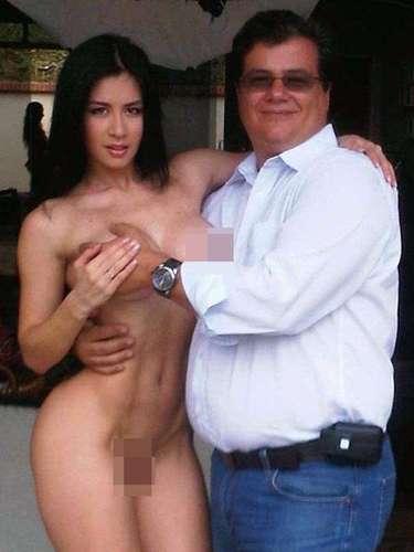 Diosa Canales es popular por sus atrevidas presentaciones en público en las que permite que sus admiradores se regocijen con su anatomía.