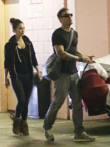 Megan Fox y su esposo Brian Austin Green dio la bienvenida a su primer hijo, Noah Shannon Green, el 27 de septiembre.