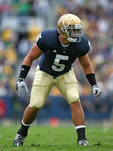 Te'o was a standout freshman at Notre Dame when he said he first came in contact with Lennay Kekua, whom he met online and was also Samoan. Though the two developed a close bond, they never met during their three-year relationship.