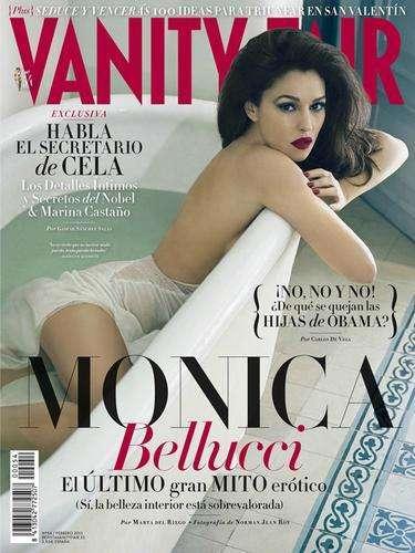 Monica Belluci es la nueva portada de la edición de enero de la revista Vanity Fair que la cataloga como el último mito erótico. Y es que no importa lo que haga, cómo se vista o el paso del tiempo, la actriz siempre tendrá esa especie de aura sedutora y casi enigmática.