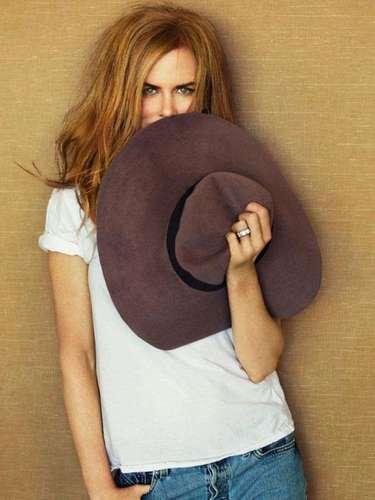 La bella Nicole Kidman, además, contó sobre su vida personal a la revista.
