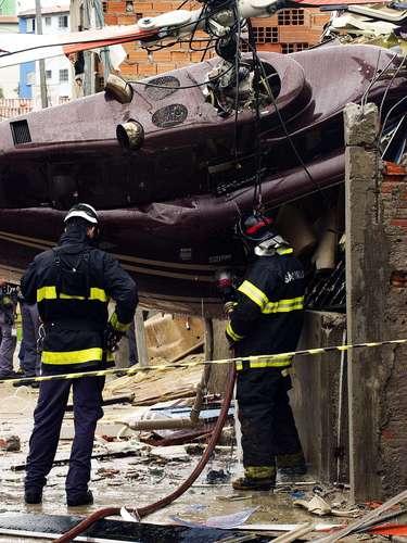 El helicóptero pertenecía a la empresa Helimarte y estaba al servicio de la Alcaldía de São Paulo.
