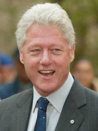 CLINTON: inspirado en el presidente Bill Clinton, considerado uno de los más carismáticos líderes mundiales