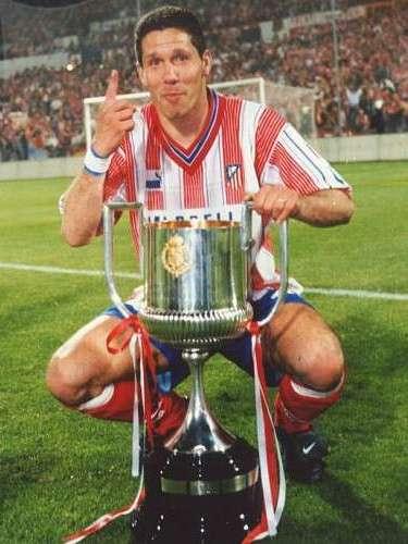 Atlético de Madrid suma nueve títulos; el último lo consiguió en 1995m curiosamente, con Diego Simeone como capitán.