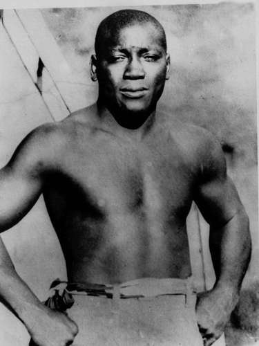Jack Johnson (Boxing): At the height of segregation, Johnson became the first black heavyweight champion of the world from 1908-1915, and is still widely considered one of the greatest heavyweights of all time. He was one of the earliest sports celebrities, and was known for flouting the conventions of blacks and whites in that era. It would not be until Joe Louis in 1937 that another African-American would hold the heavweight title belt.
