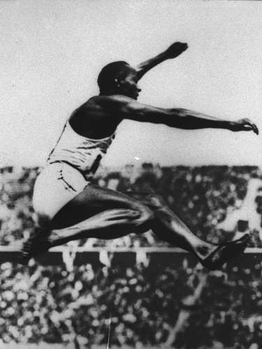 Jesse Owens (Track and field): One of the most famous African-American pioneers, Owens not only struck a blow for African-Americans in the United States in the 1936 Olympics in Berlin, but he also struck one against Adolf Hitler's notion of Aryian supremacy. Owens won four gold medals and was the most decorated athlete at the Games.