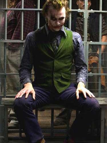 Antes de morir, Heath Ledger preparaba un retorno por todo lo alto a las grandes producciones con su personaje de 'El Guasón' en 'Batman: El Caballero de la Noche' (2008).