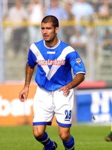 En 2001, durante su etapa como jugador, en este caso del Brescia, Pep dio positivo por nandrolona. Años después, la justicia italiana lo exoneró de toda implicación de dopaje.